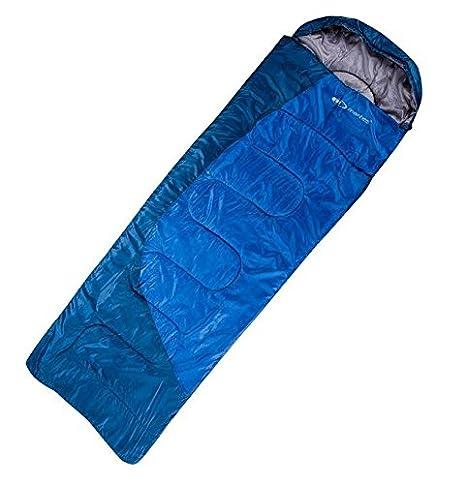 Hi-Tec - Saco de Dormir Tipo Momia Saco de Dormir Manta Saco de Dormir Acampada Tienda Exteriores lazano, Azul: Amazon.es: Deportes y aire libre