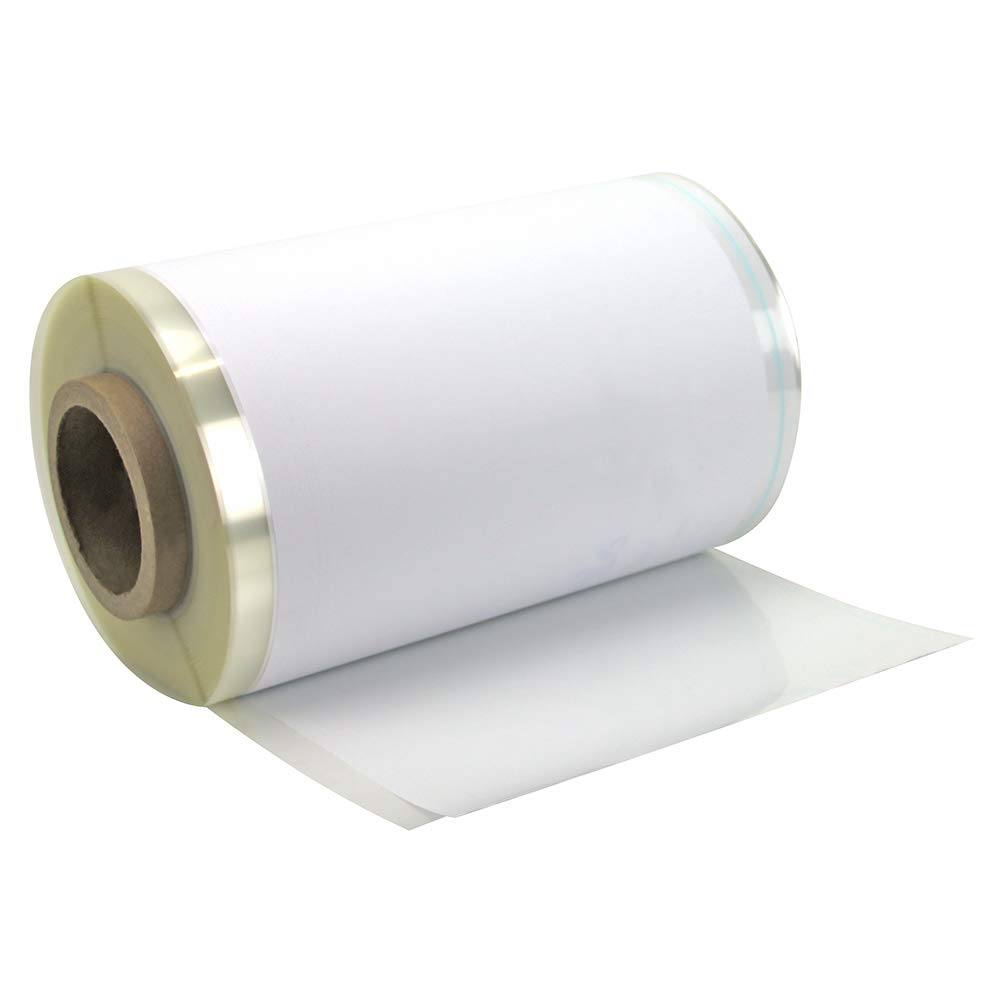 The Library Store Open Edge Adjustable Book Jacket Covers 14 inches H x 200 ft 2 mil Gloss Finish Roll