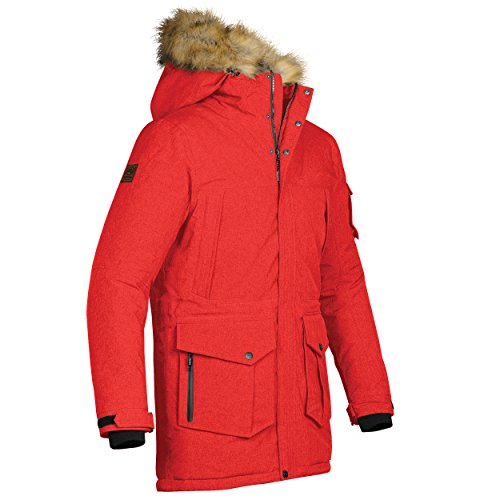 (Stormtech Expedition Thermal Jacket - Red or Black / Sml-XL - Red - XL)