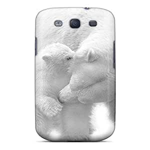 Ideal Mialisabblake Case Cover For Galaxy S3(polar Bears), Protective Stylish Case