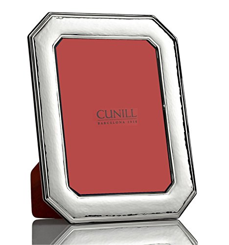 - Cunill Octennial 5x7 Sterling Silver Picture Frame