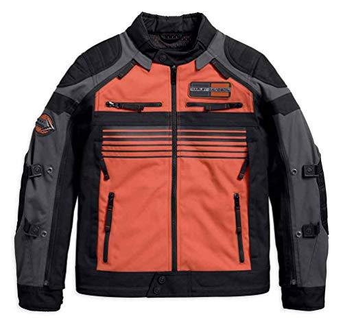 - Harley-Davidson Men's Hill City Switchback Riding Jacket, Blk 97100-18VM (XL)
