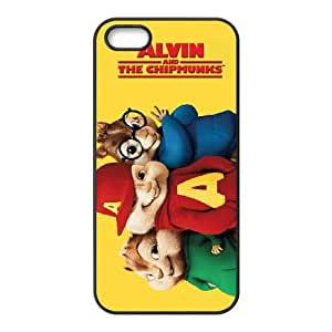 Alvin and the Chipmunks iPhone 5 5s Cell Phone Case Black gift W9589809