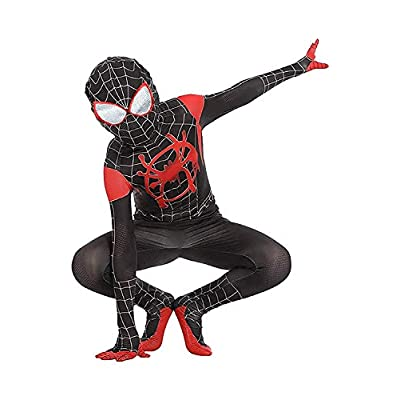 snow flying Superhero Zentai Bodysuit Halloween Cosplay Costumes Kids 3D Style: Clothing