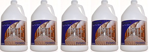 Flo-Kem 6328 Attack Pet and Food Carpet Cleaner/Deodorizer with Pleasant Scent for Carpets, 1 Gallon (5-(1 Gallon)) by Flo-Kem