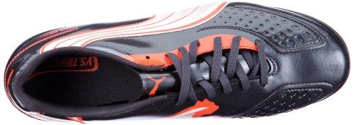 Puma v5.11 TT 102339 Herren Sportschuhe - Fußball Grau (team charcoal-white-fluo peach 06)