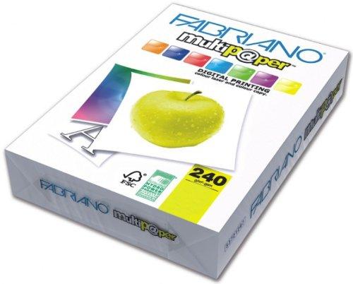 Creative World Of Crafts - Papel para impresoras y fotocopiadoras (240 gsm, A3), color blanco