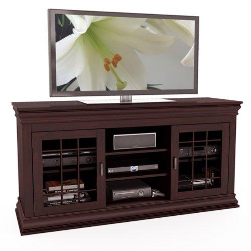 Sonax B-231-NCT Carson 60-Inch Wood Veneer TV/Component Benc