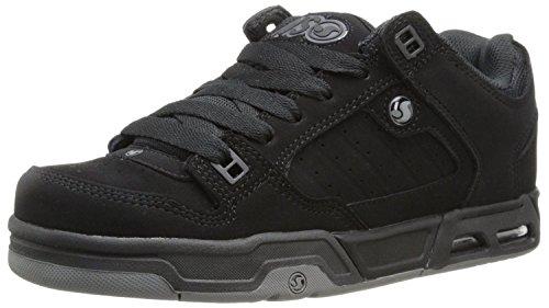 DVS Militia Heir Nero Grigio Suede Nuovo Uomo Sneaker Scarpe Stivali