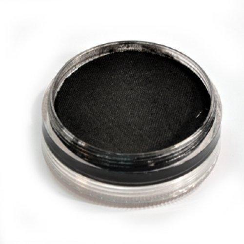 Black Base Makeup (Wolfe F/X Essential Colors Face Paint - Black (45 gm))