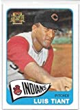Luis Tiant 2001 Topps Archives Cleveland Indians 1965 Card #52