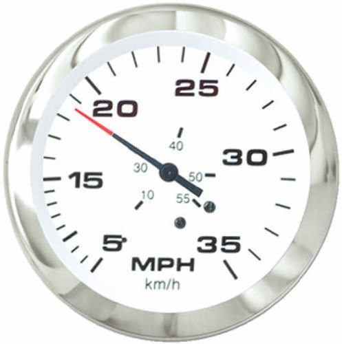 Sierra International 59713P Lido 65 MPH Fog Resistant Speedometer