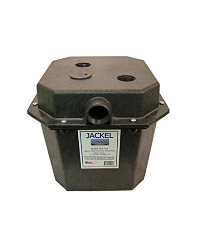 Jackel Pre-Plumbed Laundry/Sink Tray System with 1/4 HP Sump Pump