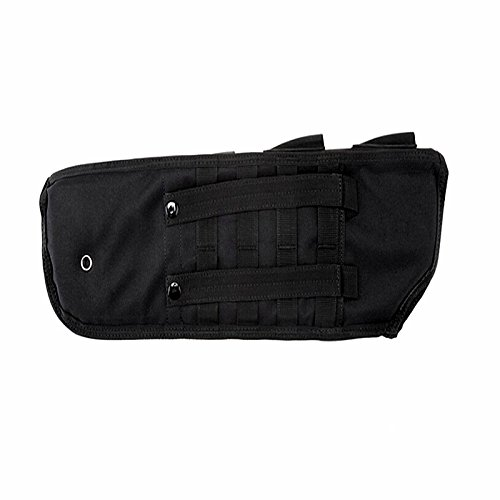 FIRECLUB Tactical Pistol Breacher's Shotgun Scabbard Holster Molle Rifle Sling Case Bag for Outdoor Hunting Black