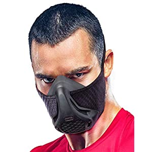 Sparthos Training Mask – Simulate High Altitudes – for Gym, Cardio, Fitness, Running, Endurance and HIIT Training [16…