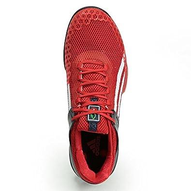 new arrival fa281 56a77 Adidas Adizero Ubersonic G Dub Mens Tennis Shoe 13 Vivid Red-White-Navy  Amazon.ca Shoes  Handbags