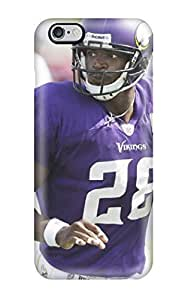 For GkKvMHL9830BQnLH Adrian Peterson Football Protective Case Cover Skin/iphone 6 Plus Case Cover(3D PC Soft Case)