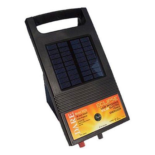 "2 Pk Dare 6V Eclipse 1"" x 9"" x 11"" Solar Electric Fencer Fen"