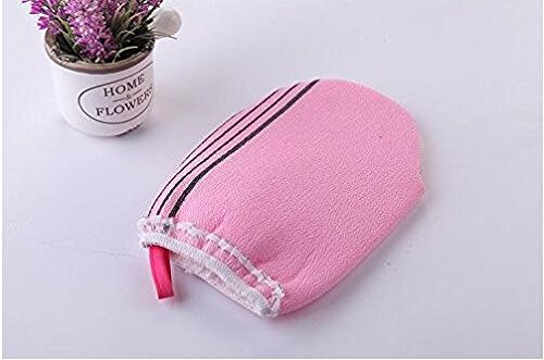 Exfoliating Hammam Skin Remove Blackheads Cellulite Massage Exfoliator Glove , Random color