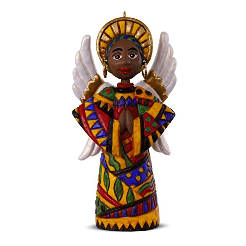 (Hallmark Keepsake Christmas Ornament 2018 Year Dated, African American Angel of Hope )