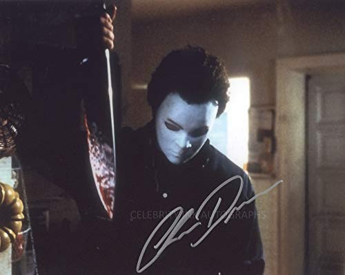 CHRIS DURAND as Michael Myers - Halloween H20: 20 Years Later GENUINE AUTOGRAPH]()