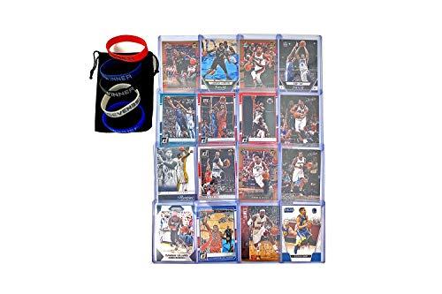 Basketball Cards: Curry, Lebron, Durant, Liliard, Kawhi Leonard, Wade, Paul George, Butler, Bradley Beal, DeRozan, Lamarcus Aldridge, Walker, Gay, CJ Mccollum, Williams, Rose (16) Card Gift Bundle best to buy