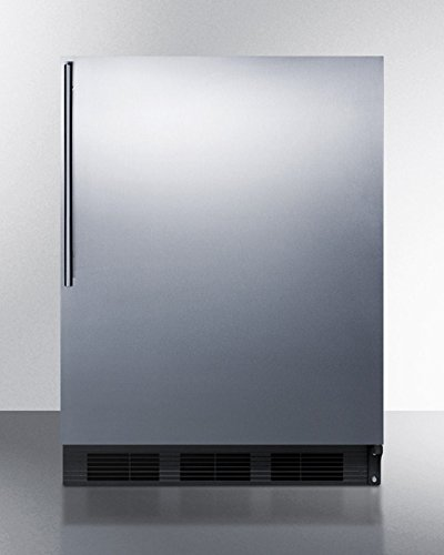 Ada Compliant Built-in Refrigerator-freezer With Black Cabinet, STA...