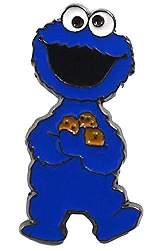 New Horizons Production Cookie Monster Full Figure Metal Enamel Pin