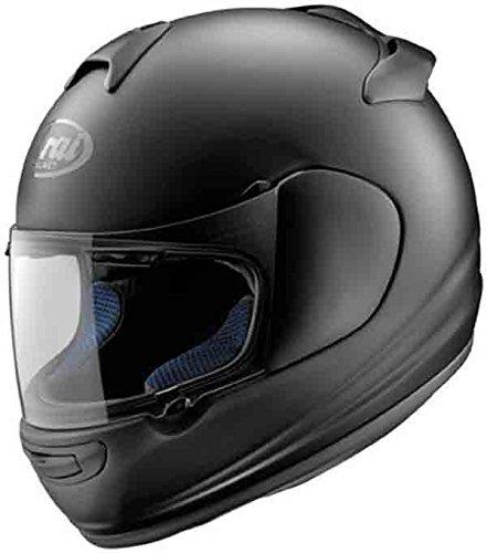 [Arai Helmets Vector 2 Solid Helmet , Size: Md, Primary Color: Black, Helmet Type: Full-face Helmets, Helmet Category: Street, Distinct Name: Black Frost, Gender: Mens/Unisex 814172 2010] (Arai Vector Full Face Helmet)