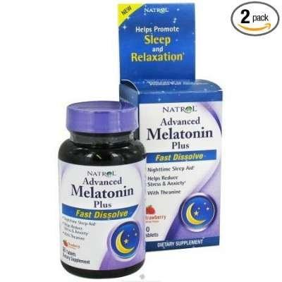 Natrol Melatonin Adv Calm Fst