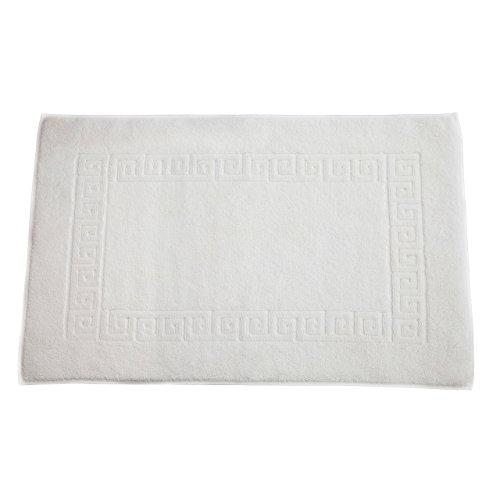 Linum Home Textiles TR00-1GK Greek Key Bath Mat