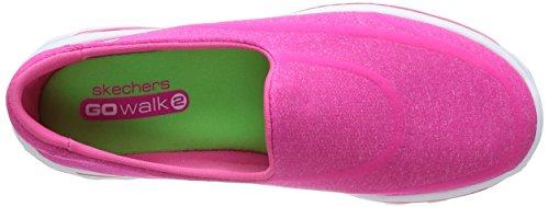 Deporte Skechers hpk De nbsp;super 2 Mujer Sock Rosa Walk Para Zapatilla Go qqrw0PA