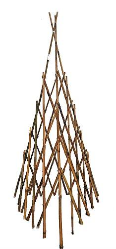 (Natural Bamboo Poles Teepee, 48