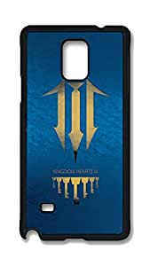 Note 4 Cases, Galaxy Note 4 Case, Customize Kingdom Hearts Symbol Hard PC Black Protective Case Cover for Samsung Galaxy Note 4