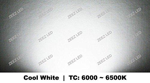 ZEEZ Lighting - 2FT x 2FT 48W Cool White LED Troffer Panel Light Recessed Dropped Ceiling Flatpanel Fixture - 10 Packs
