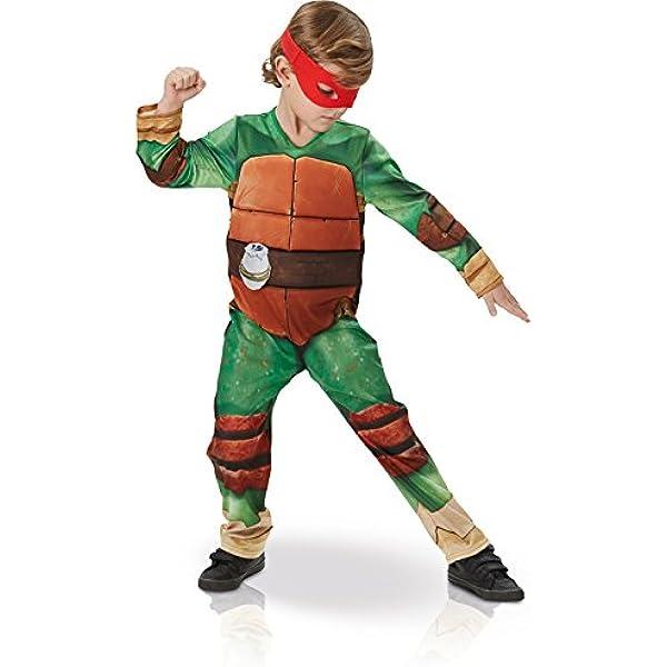 Disfraz de Tortuga Ninja en caja para niño, infantil 3-4 ...