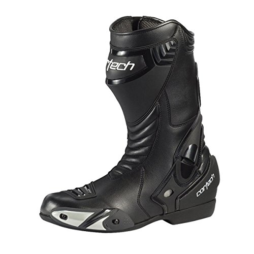 Cortech Latigo WP Men's Road Race Motorcycle Boots (Black, Size 12/EU 46) ()