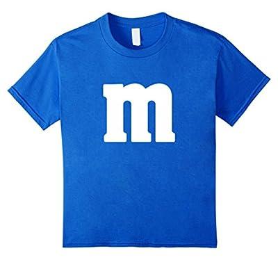 M Candy Halloween Costume Shirt