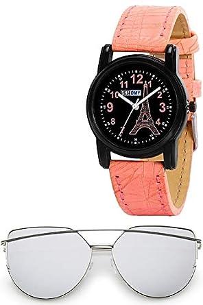 9cb576de4a4 Sheomy Aviator Unisex Sunglasses (Brown-Brown 55 BROWN) Best Online Gifts