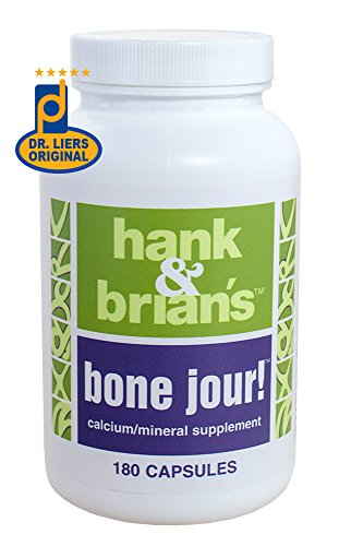 Hank & Brian's Bone Jour! – Calcium and Magnesium Support for Bones, Connective Tissues, Nerves, and Muscles Review