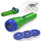 Tintec Dinosaur Toys, Boys Toy Dinosaur Torch Toy for Kids Dinosaur Projector Torch for 3 Year Old and Up Boy Toys Boy Science Toy Age 3-5