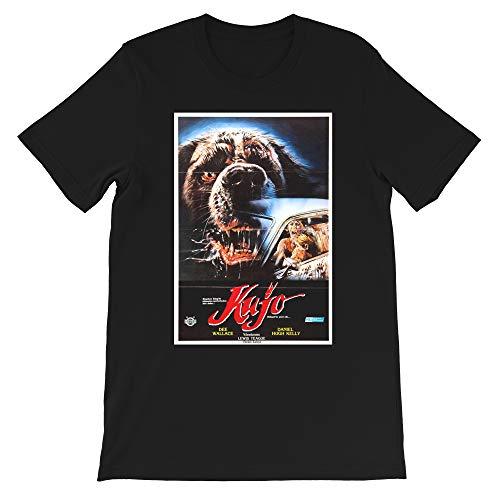 Cujo Stephen King 1983 American Horror Film Donna Trenton Tad Trenton Gift for Mens Womens Girls Unisex T-Shirt (Black-M)