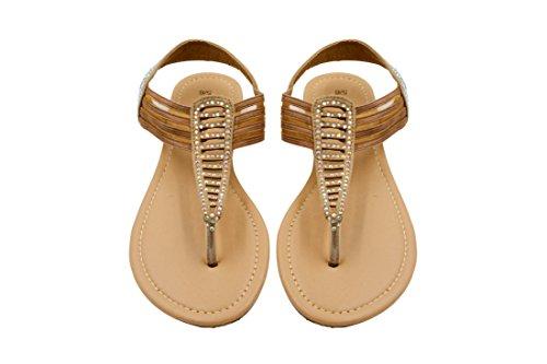 sara-z-womens-t-strap-elastic-vamp-flat-thong-sandal-with-rhinestones-size-7-8-tan