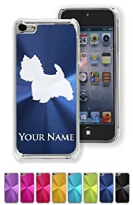 Personalized Case/Cover for iPhone 5 5s - WEST HIGHLAND WHITE TERRIER DOG - Engraved for FREE