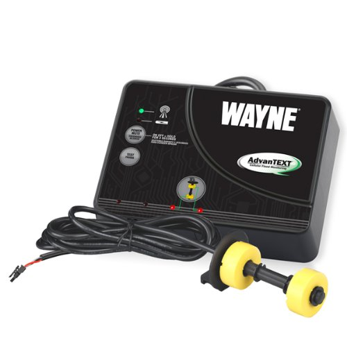 WAYNE WTXS AdvanTEXT Cellular Flood Monitoring Alert System With Dual Float