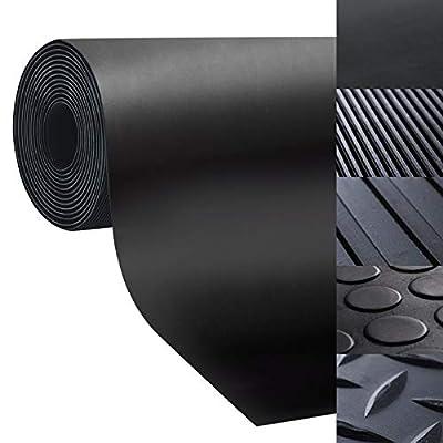 casa pura Rubber Floor Mat – Anti Slip Rubber Sheet | Suitable as Garage Floor Mat, Horse Stall Mat or Workbench Mat | Many Sizes to Choose from