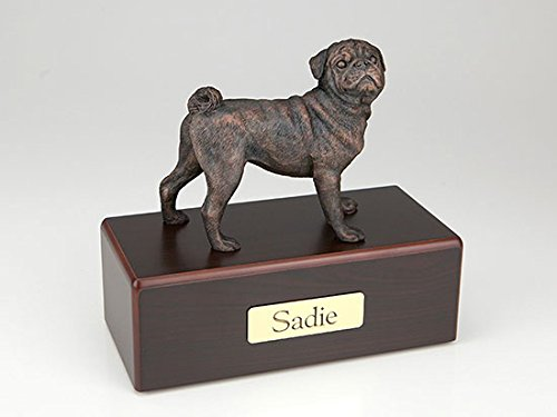 Ever My Pet Pug Economy Bronze Series Dog Urn SW200-451 by Ever My Pet