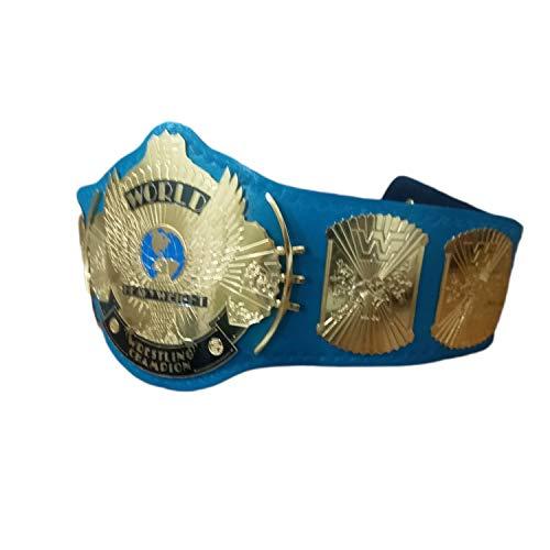 (Vitalusa WWF/WWE Classic Gold Eagle Winged Wrestling Championship Belt Adult Size Replica Title Belt)
