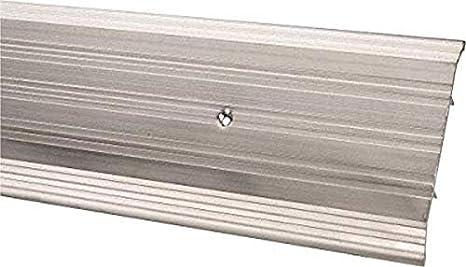 Mill Finish Aluminum Pemko Fluted Saddle Threshold 48L x 5W x 0.25H