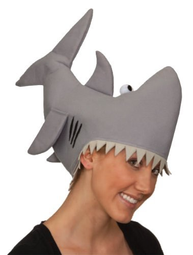 Best Halloween Themed Rock Songs (Jacobson Hat Company Grey Shark Hat, Grey,)